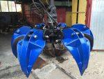 Грейфер ГЛ-1У (Велмаш) с усиленными лепестками (сталь Strenx700,  Hardox 450)